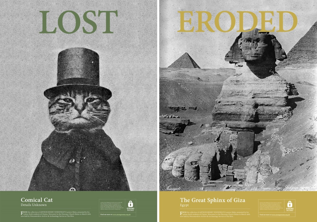 Cat and sphinx photo posters