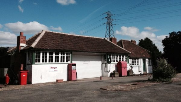 This Morgan Garage, located on Old Worcester Road, Hartlebury, was first established in 1927. At one time a busy filling station and tea room, this site reflects a growing population of private motorists, from the 1920s. The Garage is described as a cherished landmark for many parishioners in the Hartlebury Parish Plan and Village Design Statement (2016 – 2020). Photograph ©Worcestershire Archive and Archaeology Service