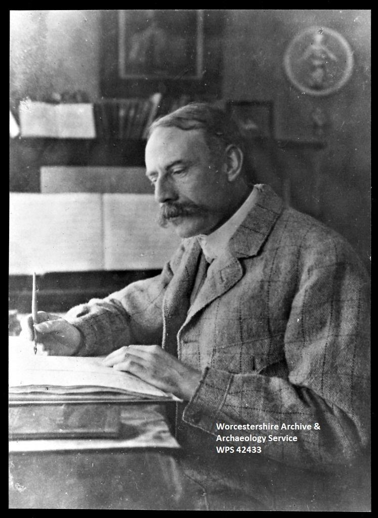 Sir Edward Elgar c1900