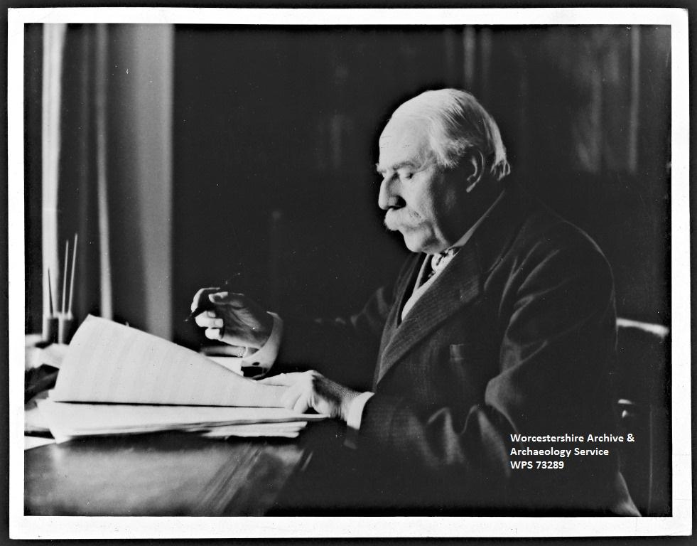 Sir Edward Elgar 1935