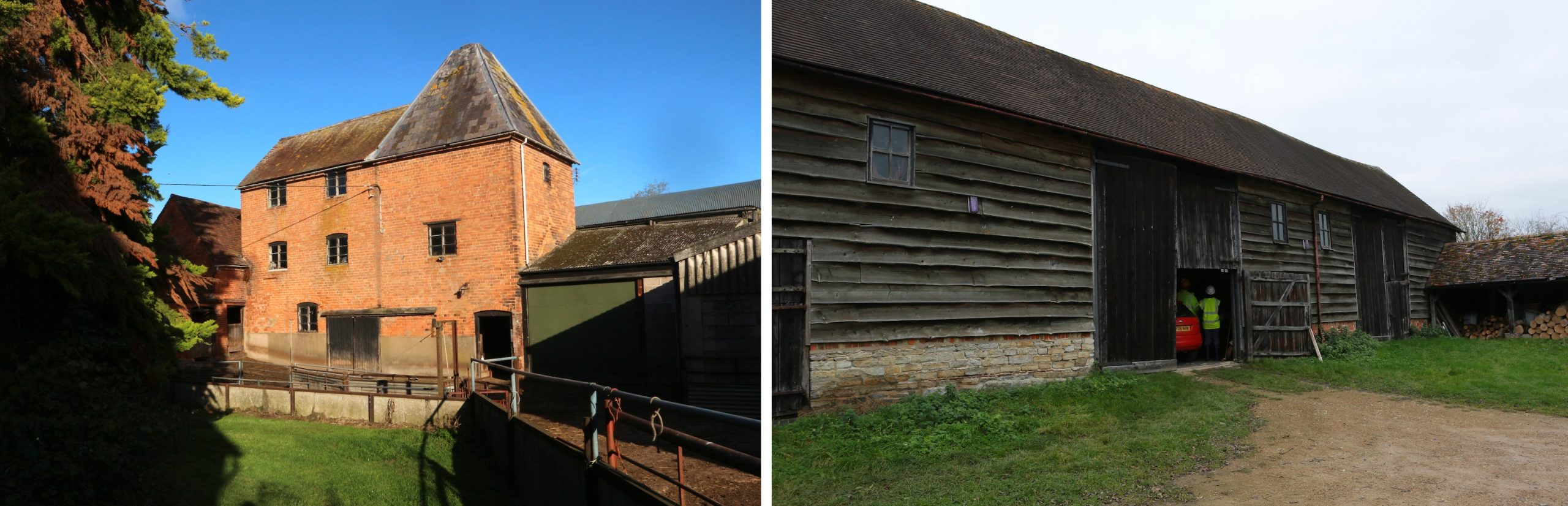 Hop kiln and threshing barn