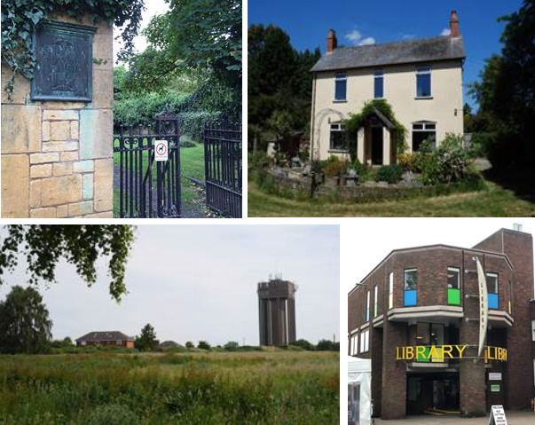 Collage of C20th buildings