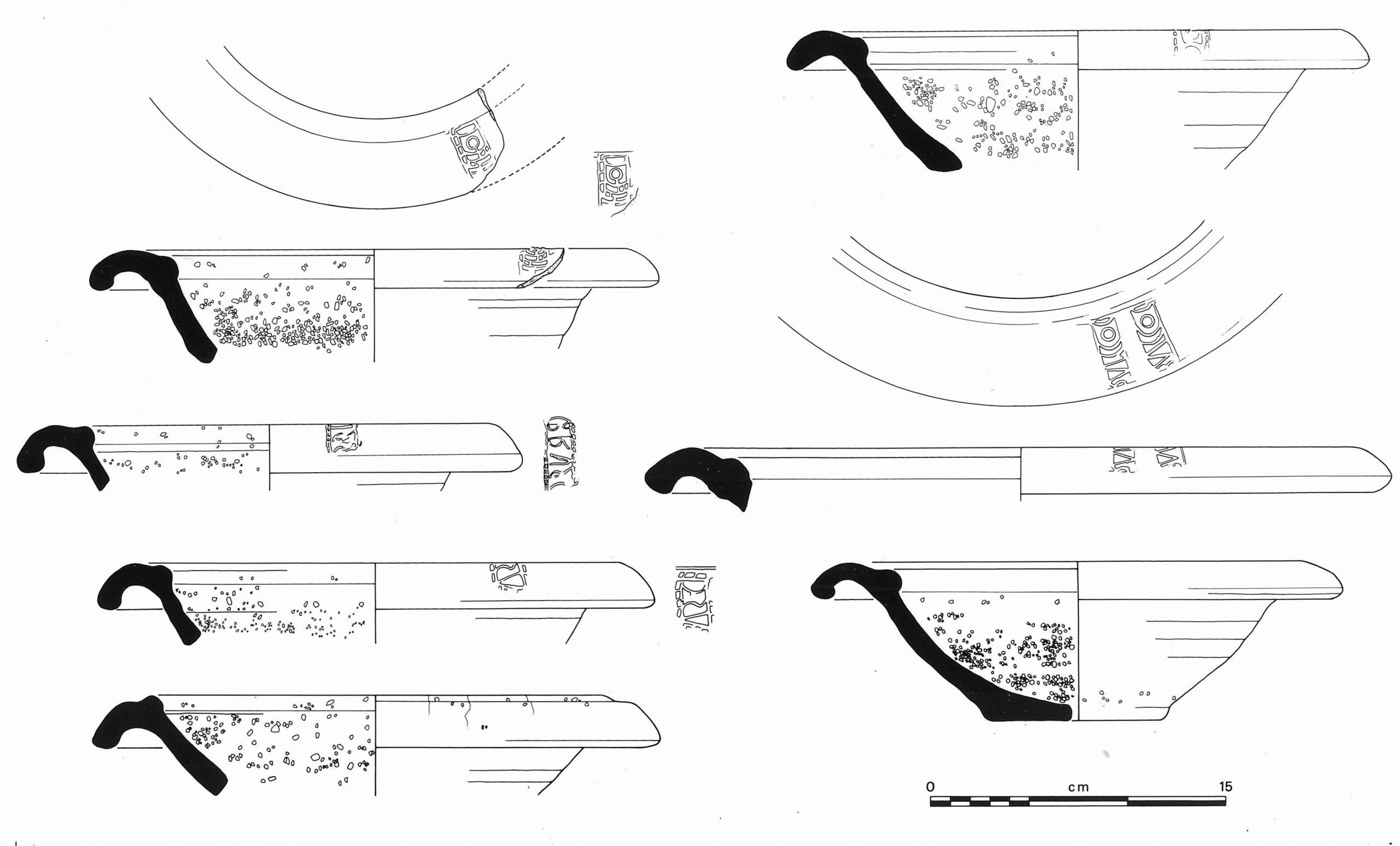 Mortaria illustrations