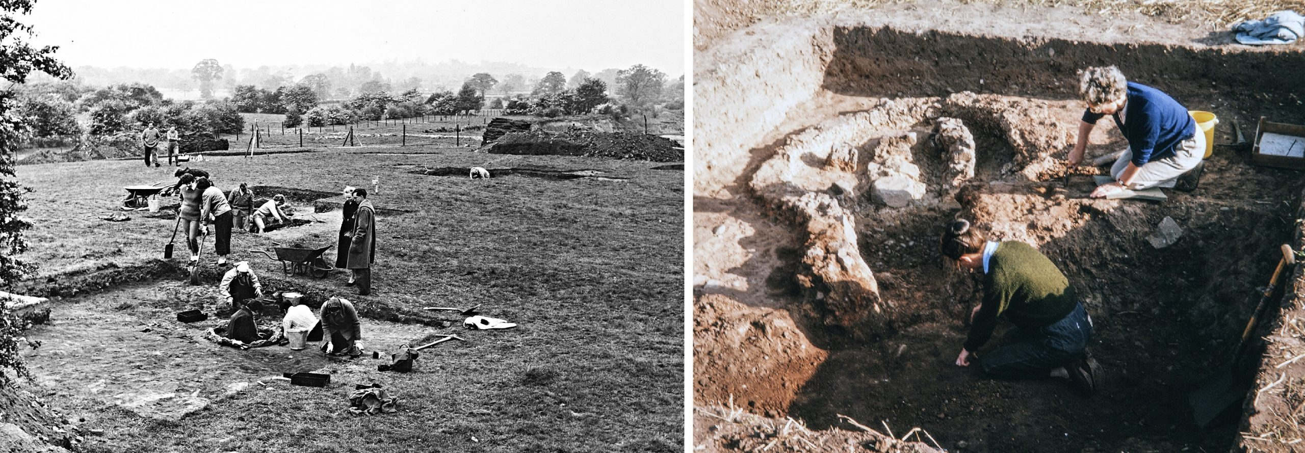 Mancetter-Hartshill excavation photos