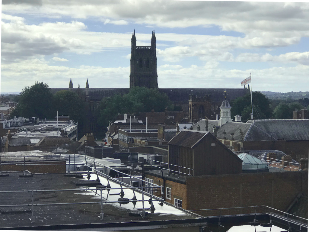 Cathedral from St.Swithun's