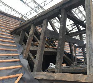 St.Swithun's: new roof -1