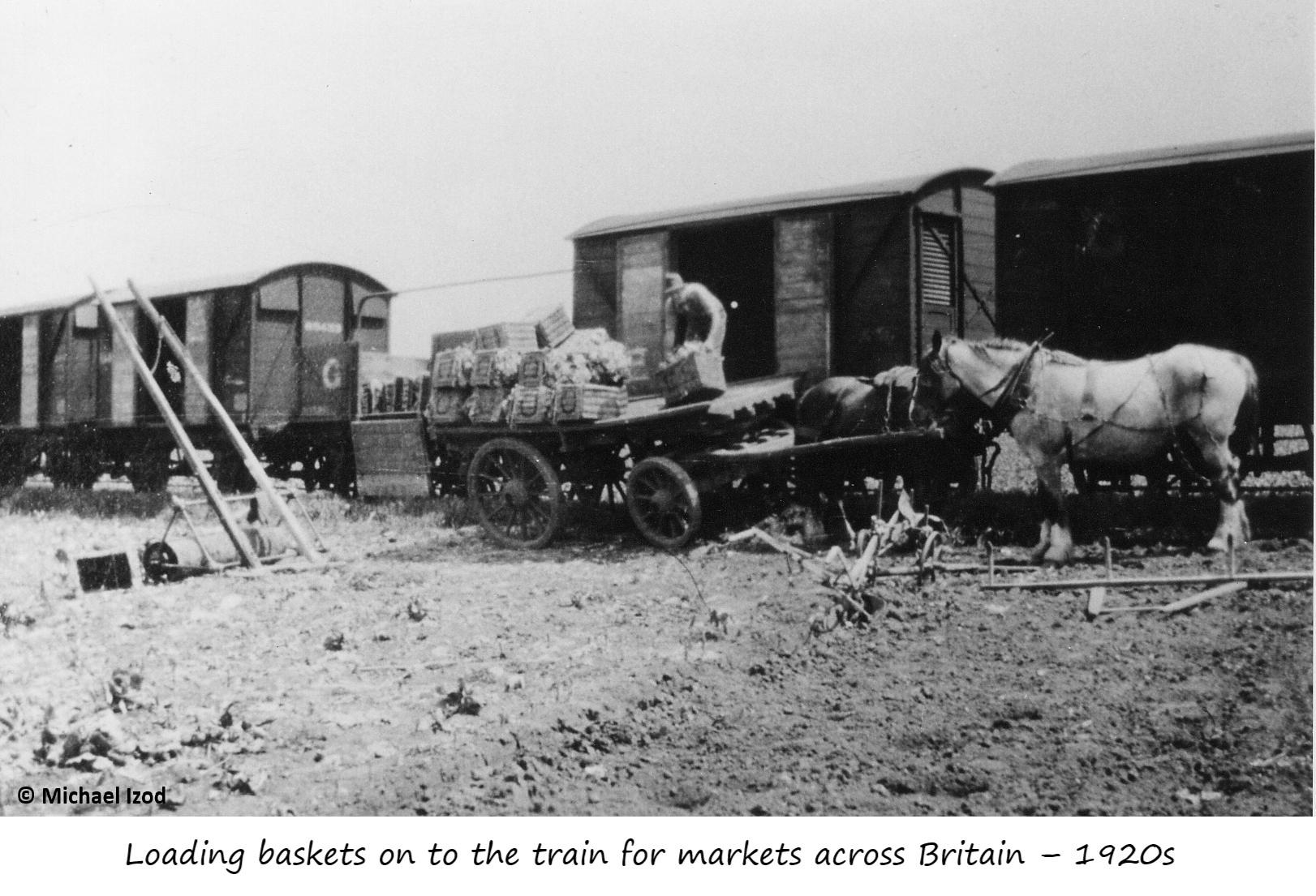 Fladbury railway sidings
