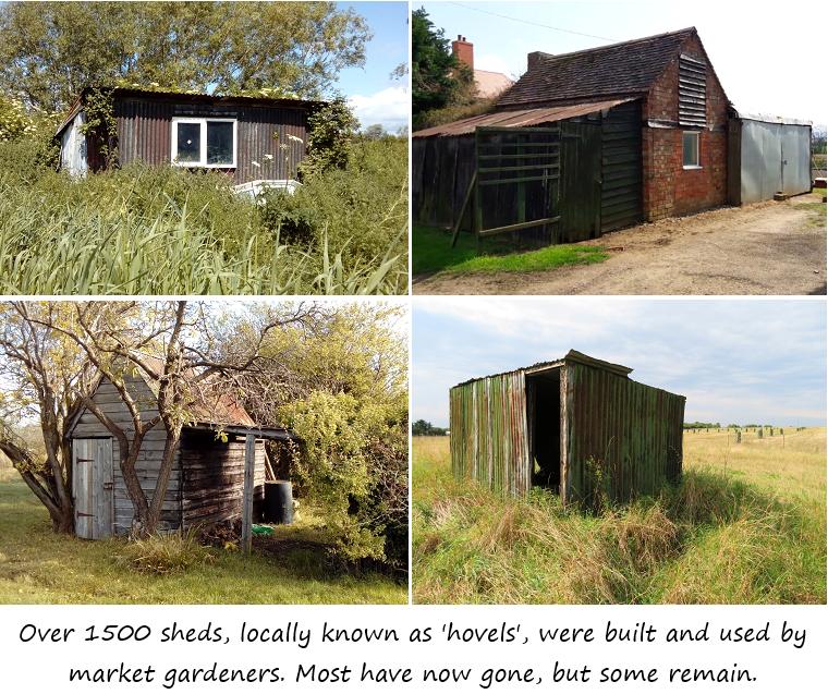 Four derelict hovels