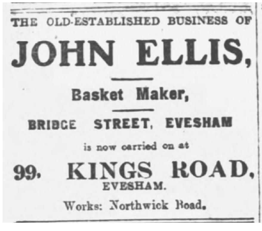 Basket maker advert