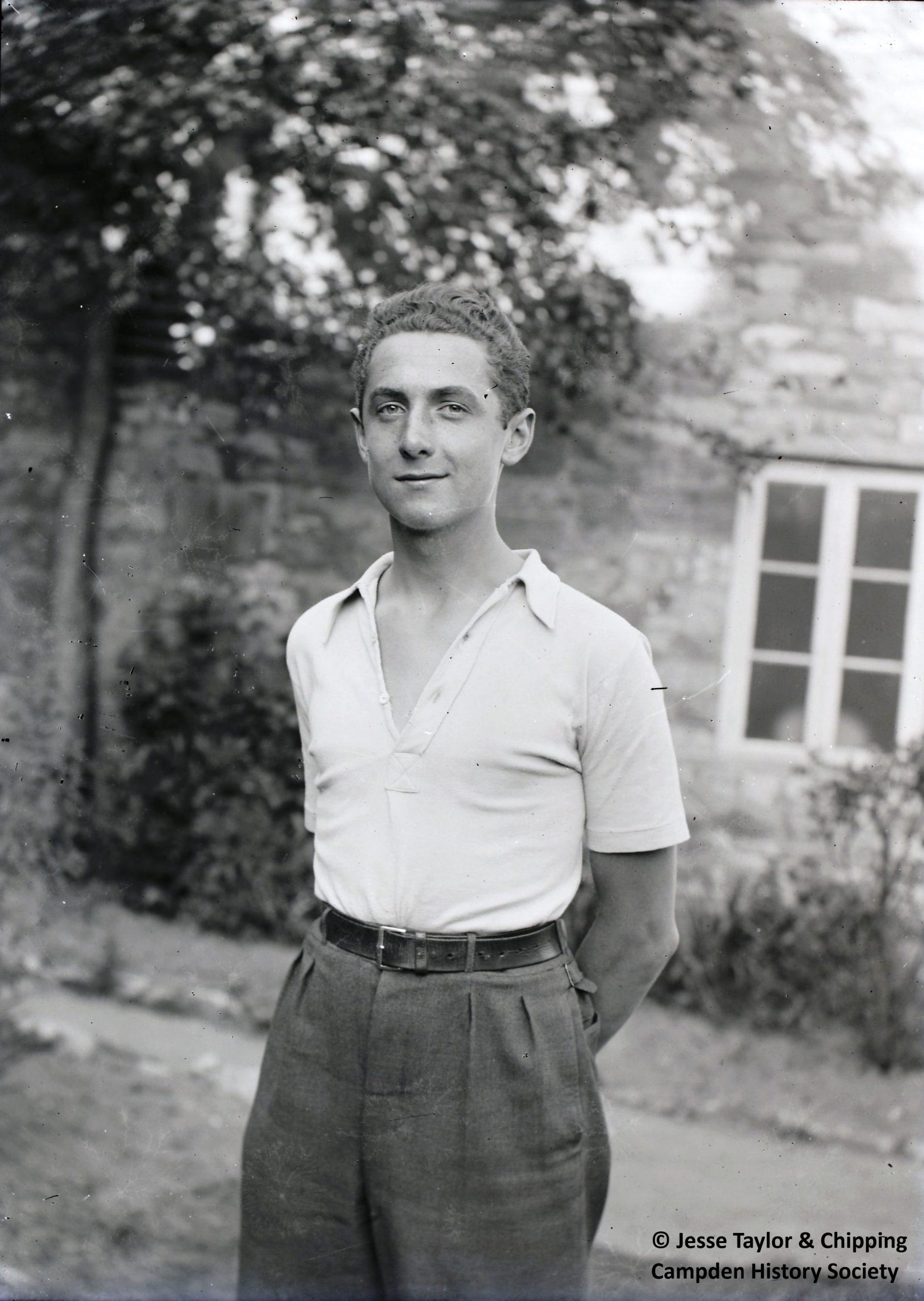Portrait of POW at Broad Martson