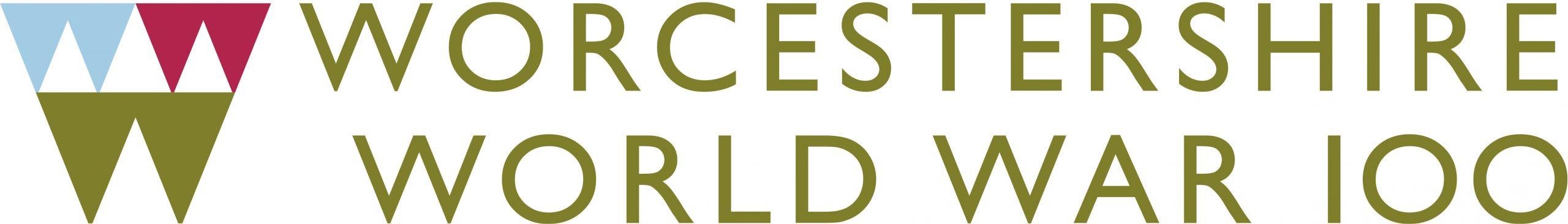 Worcestershire World War 100 logo