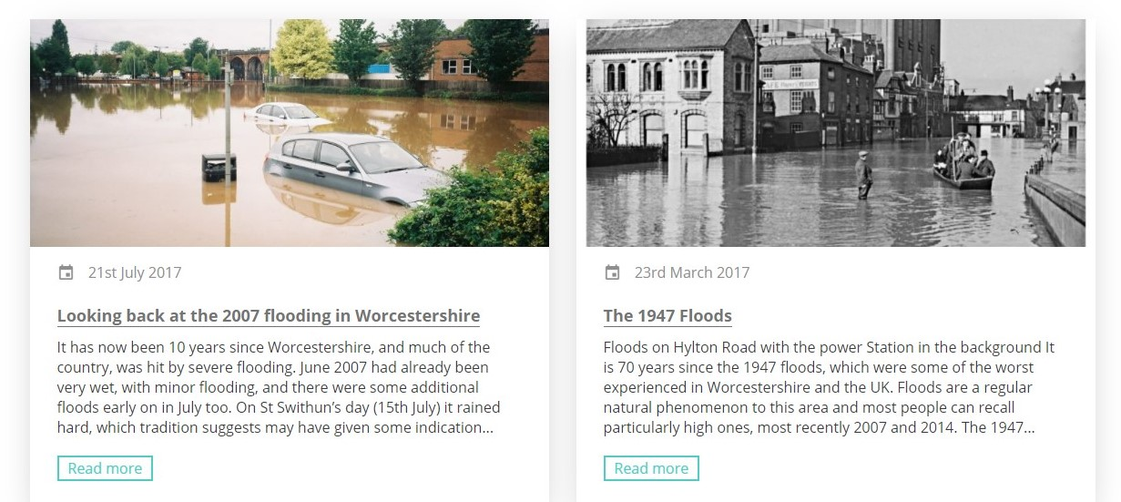 Two Flood Blogs