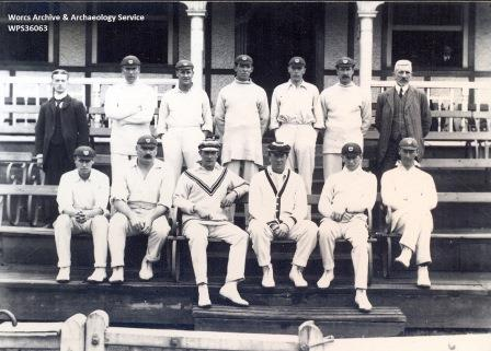 Worcestershire County Cricket Club c1900. Worcestershire Photographic Survey.