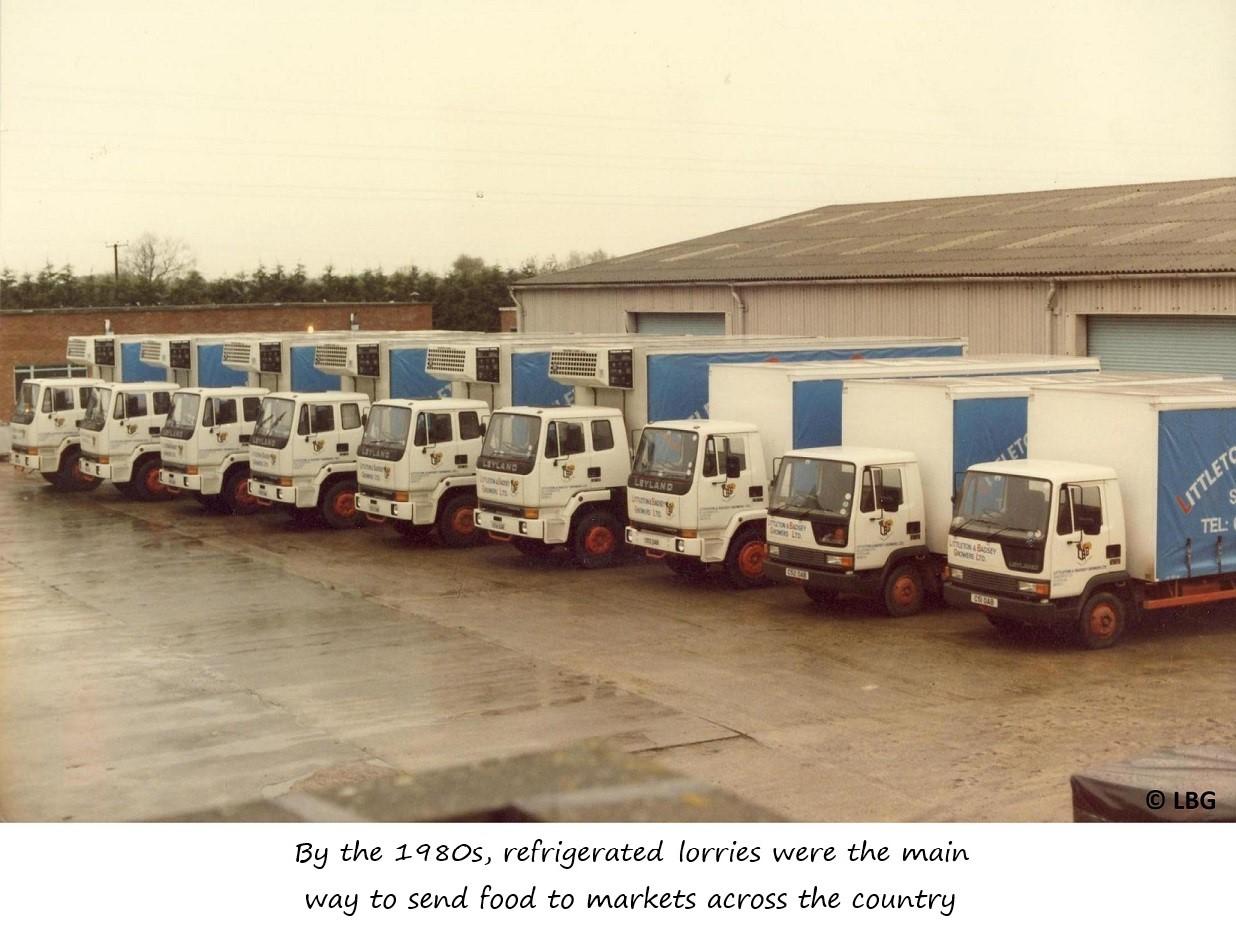 LBG refrigerated lorry fleet