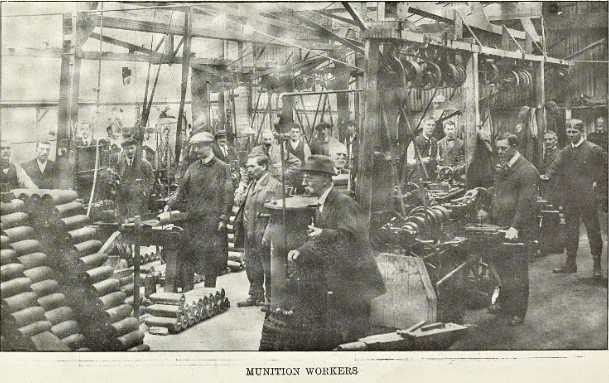 Munition Workers: Berrow's Illustrated Supplement 3 June, 1916.