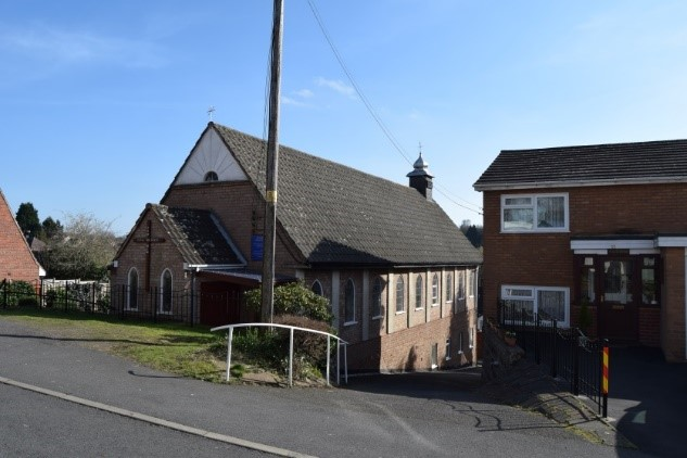he Roman Catholic Church of Our Lady of Ostra Brama in Pitt Street, Kidderminster opened to serve members of the Polish community in 1963. Photograph © WCC