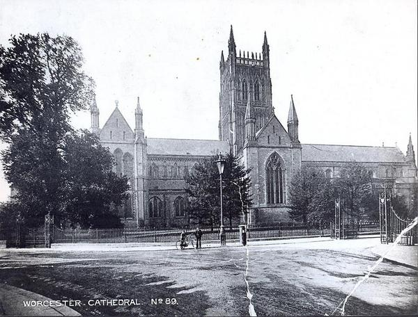 Worcester Cathedral c1896