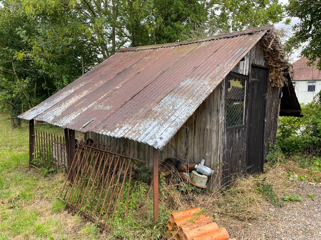 Edgar Wheeler's Hovel in Cleeve Prior, where the forms were found