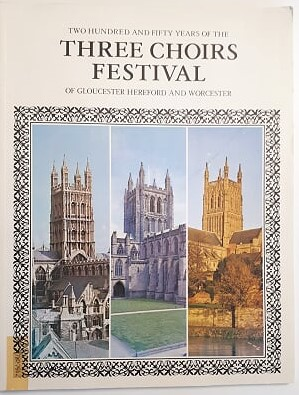 Book celebrating 250 Years of the Three Choirs Festival