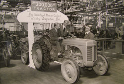 1952 Ferguson TE20 Tractor made in Coventry