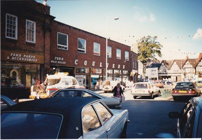 Photograph of Coulter's in 1989 thanks to Adam Mould