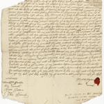 The will of Elizabeth Taylor, 1694