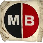 A Twentieth Century flag from Crown Food UK (formerly Carnaud Metalbox of Worcester)